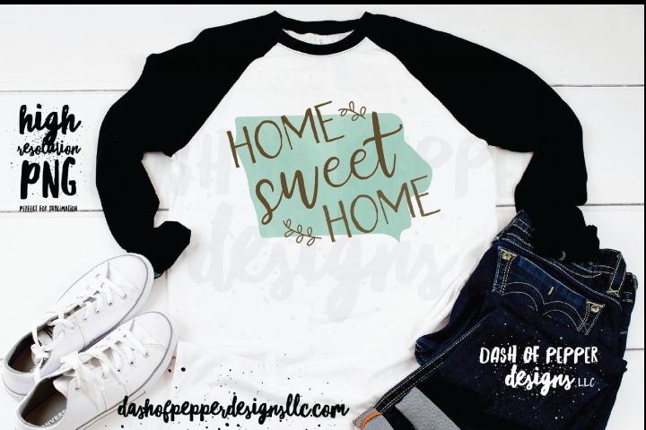 Iowa - A Home Sweet Home PNG