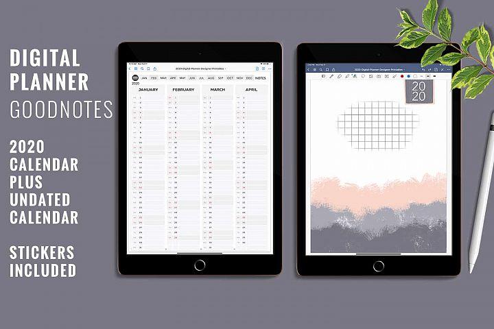 Digital Planner for GoodNotes App