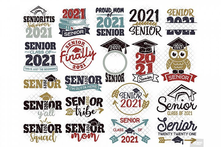Senior 2021 SVG & Sublimation in SVG,DXF,PNG, JPG, EPS