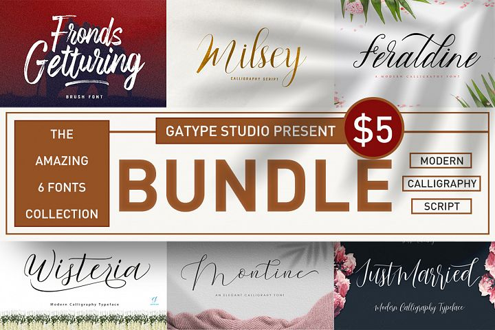 The amazing fonts bundle