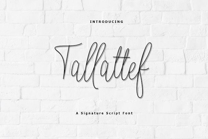 Tallattef Signature
