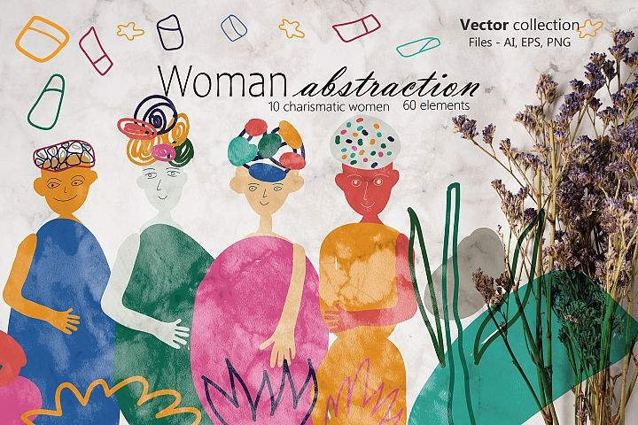 Woman abstraction