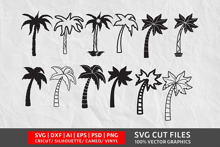 Tree Vol 2 SVG Cut File