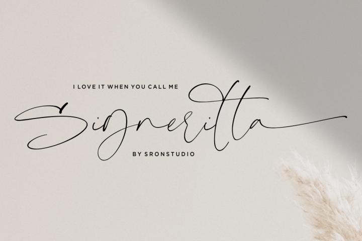 Signeritta - Elegant Signature