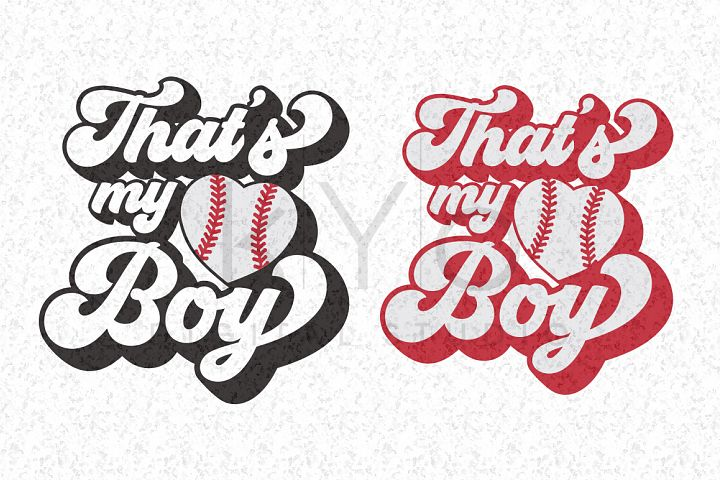 Thats My Boy Baseball Stitches Heart SVG PNG DXF EPS files