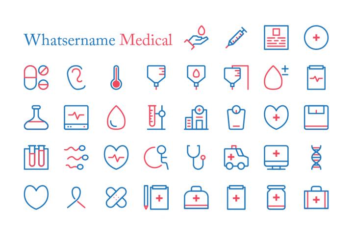 Whatsername Medical Icons