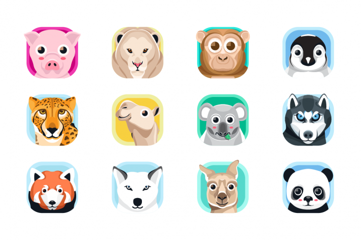Animal App Icons 2
