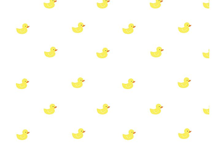 Rubber Ducky Seamless Pattern example 1