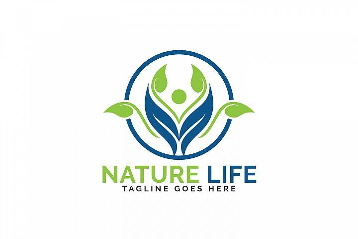 Nature Life Logo Design.