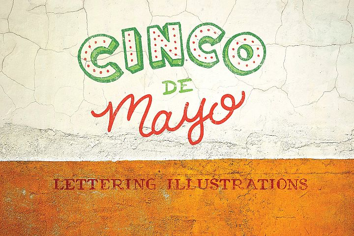Cinco De Mayo Lettering Pack