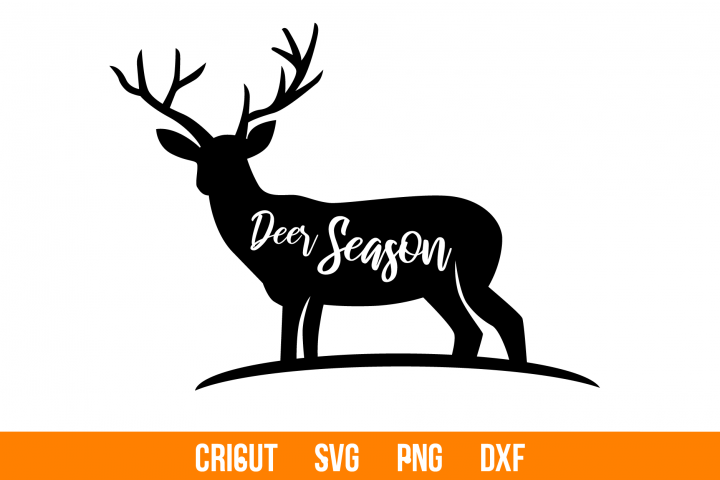 Deer SVG and PNG cutting files, Clipart