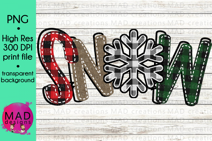 Snow- Winter Christmas - Clipart