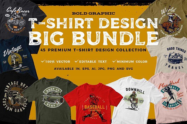 T-shirt Design BIG BUNDLE
