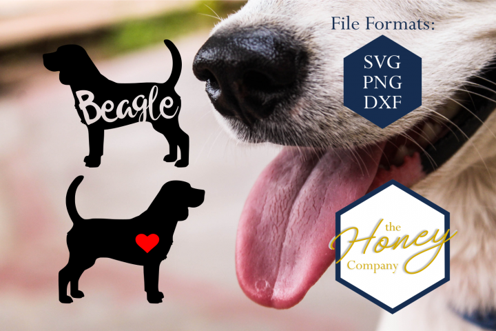 Beagle SVG PNG DXF Dog Breed Lover Cut File Clipart Decal