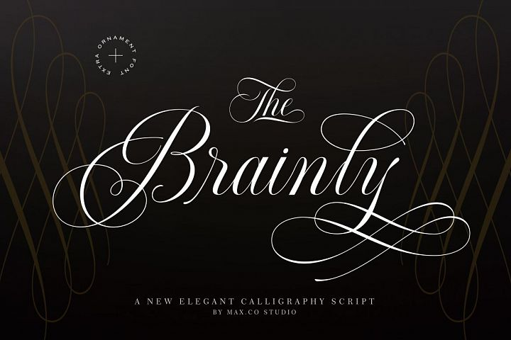 Brainly Script- With Ornament