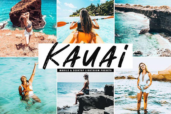 Kauai Mobile & Desktop Lightroom Presets