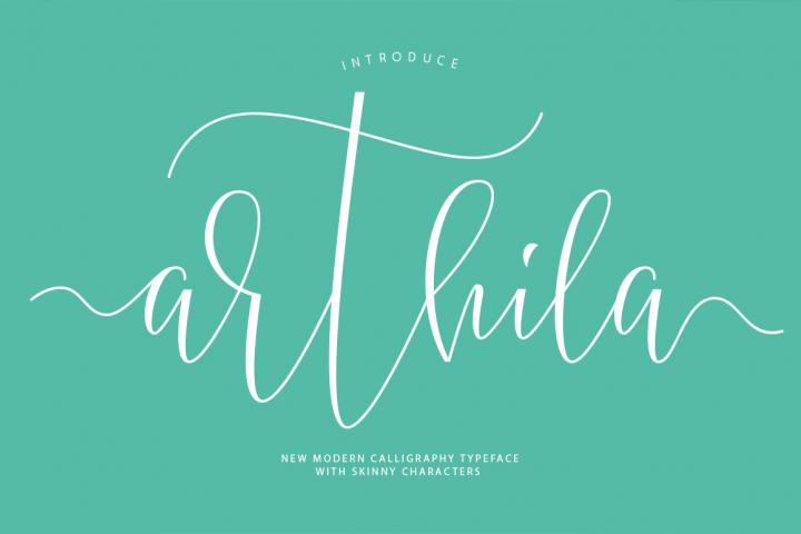 Arthila Script-50% OFF