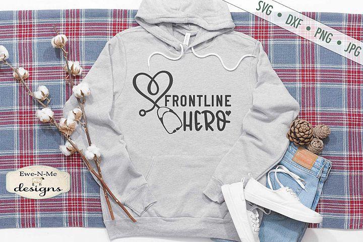 Frontline Hero - Nurse - Health Care - SVG