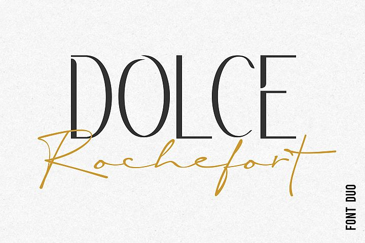 Rochefort | Luxury Signature Font Duo