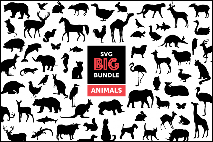The Big Animal Silhouette Bundle