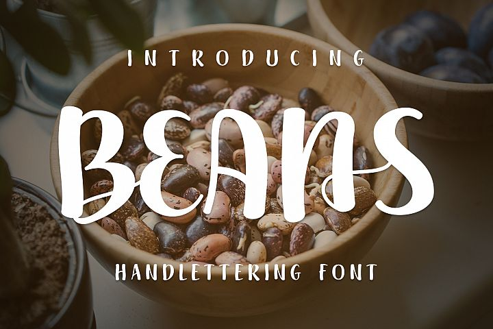 Beans - Free Font of The Week