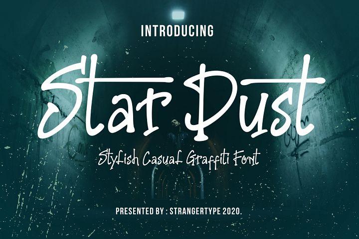 Stardust - Graffiti Font