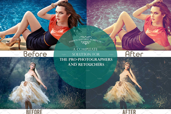 Fashion Editorial Lightroom Presets