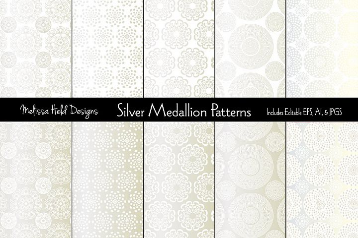 Silver Medallion Patterns