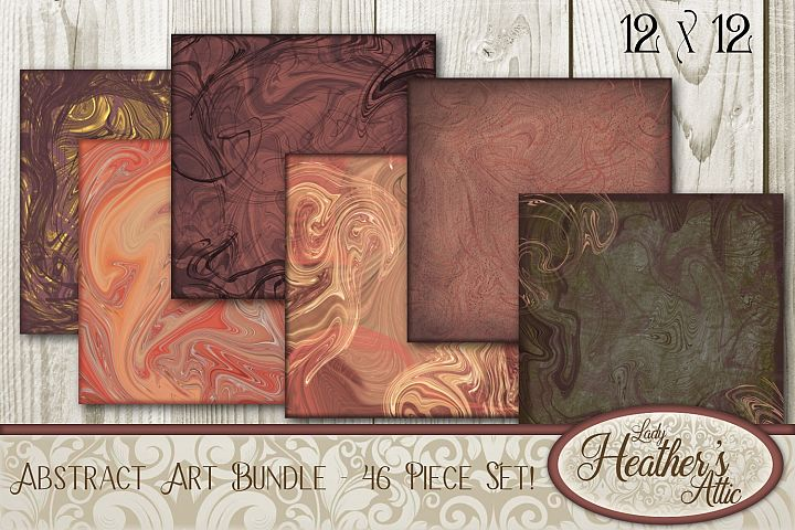 Abstract Art Bundle - 46 pieces