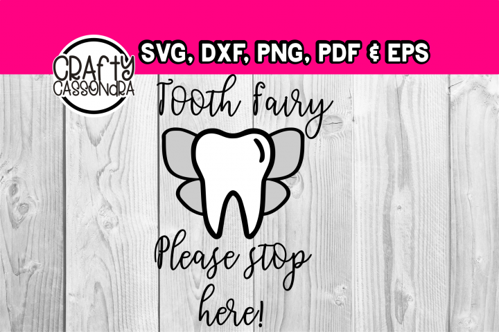 Tooth fairy please stop here