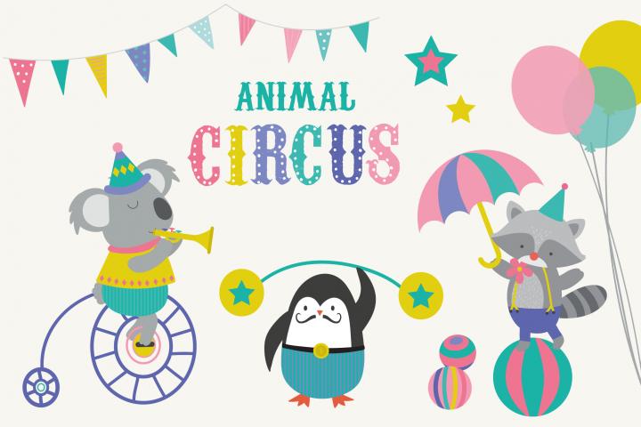 Animal Circus clipart