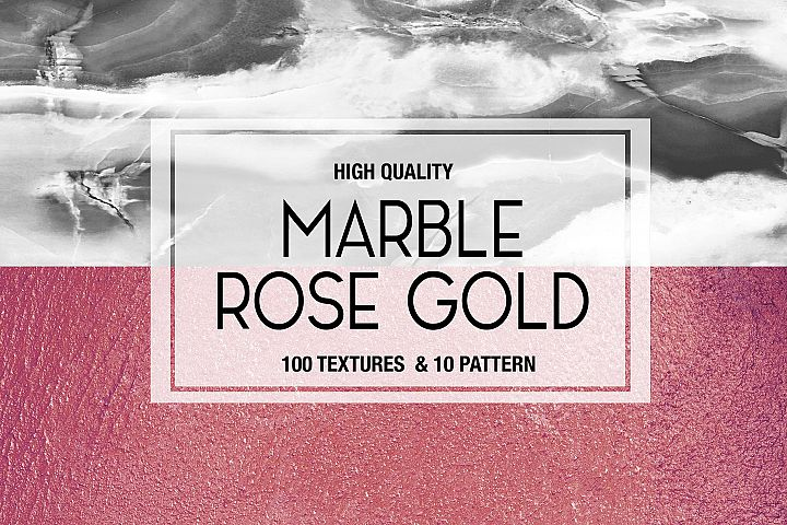 Marble Rose Gold Background Textures