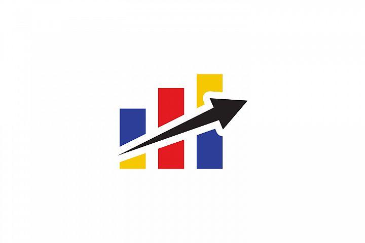 business chart logo