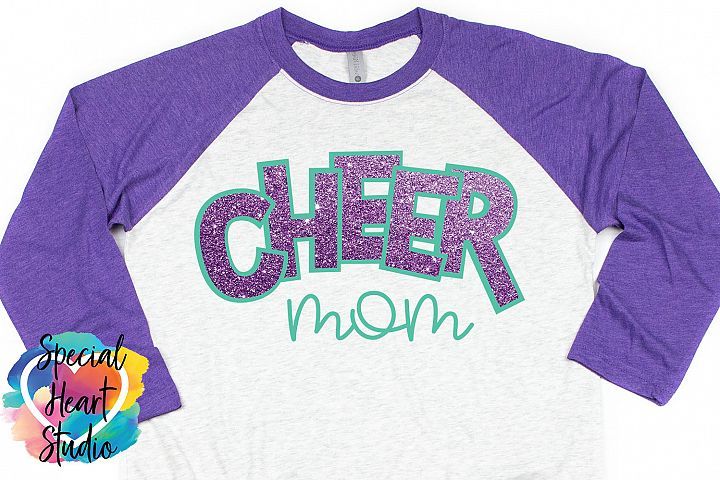 Cheer Mom SVG