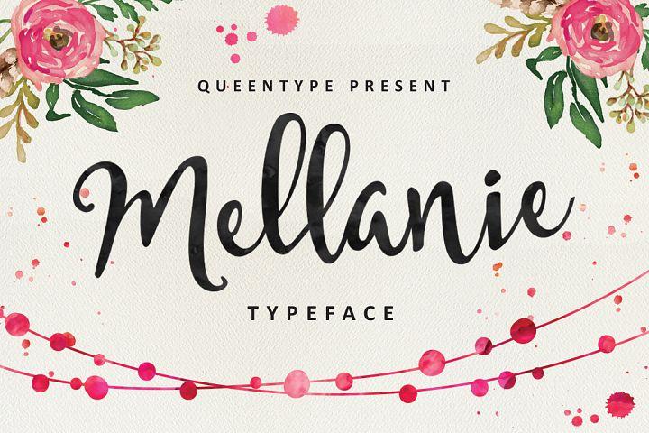 Mellanie Script - Free Font of The Week Font