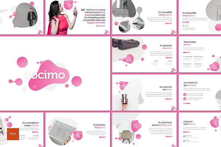 Docimo - Powerpoint Template