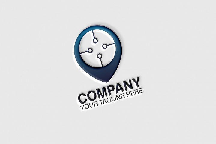 Tech Point Logo Template