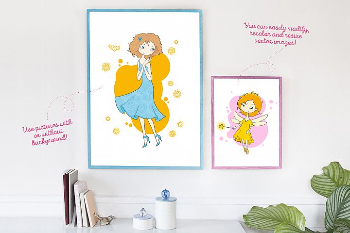 Kids and Families vector art example 6
