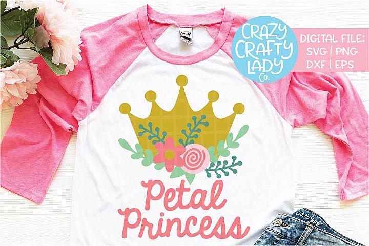 Petal Princess Wedding SVG DXF EPS PNG Cut File