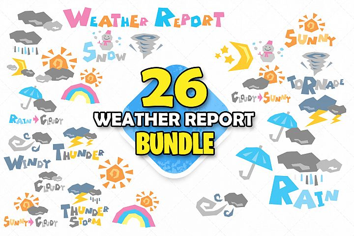 Weather report clipart svg rain sunny weather cloudy storm