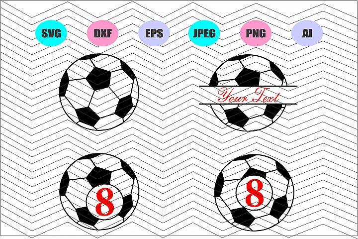 Soccer ball Svg, Ball Svg, Cut Vector File Decal Vinyl