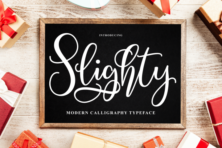 Slighty Script
