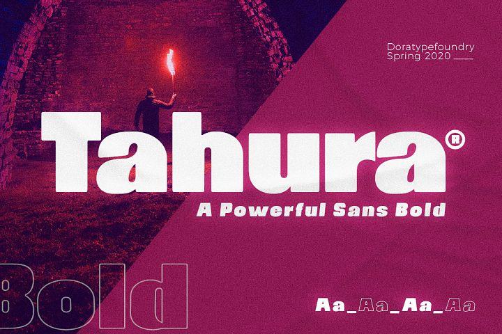 Tahura Typeface