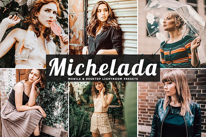Michelada Mobile & Desktop Lightroom Presets
