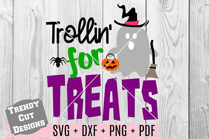 Trollin for Treats SVG DXF PDF PNG