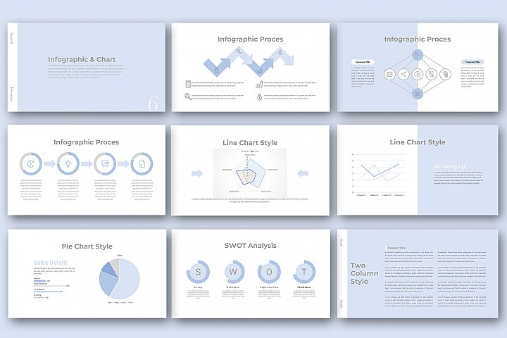 Simple P. Powerpoint Presentation example image 3