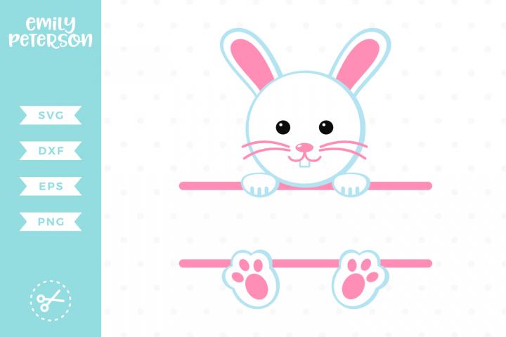 Bunny Frame SVG DXF EPS PNG