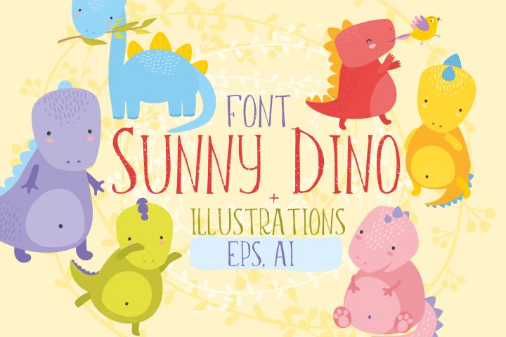 Sunny Dino/Font