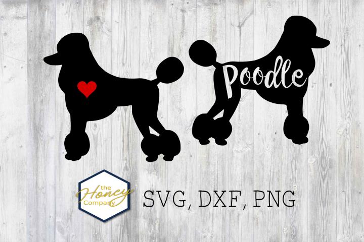 Poodle SVG PNG DXF Dog Breed Lover Cut File Vector