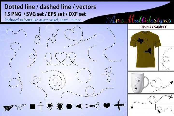 Dotted line svg vector dashed line svg vector dashed line